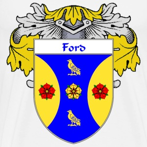 Ford Coat of Arms/Family Crest - Men's Premium T-Shirt