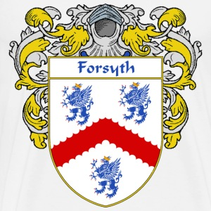 Forsyth Coat of Arms/Family Crest - Men's Premium T-Shirt