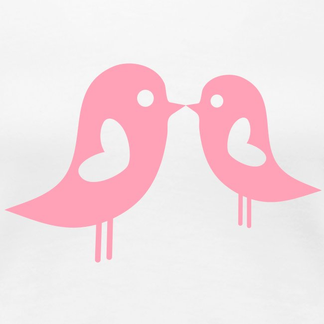 Love Birds (Pink) Women's Classic T-Shirt