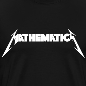 Mathematics Rock! - Men's Premium T-Shirt