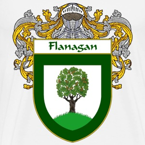Flanagan Coat of Arms/Family Crest - Men's Premium T-Shirt