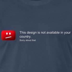 Design not available in your country - Men's Premium T-Shirt
