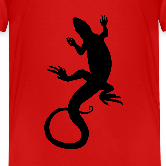 Baby Lizard Shirts Toddler Reptile Art T-shirt