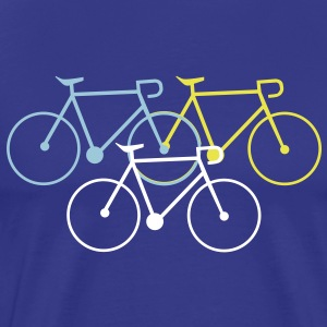 bike singlespeed fixie bycicle T-Shirts - Men's Premium T-Shirt