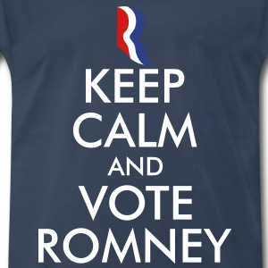 Keep Calm and Vote Romney T-Shirts - Men's Premium T-Shirt