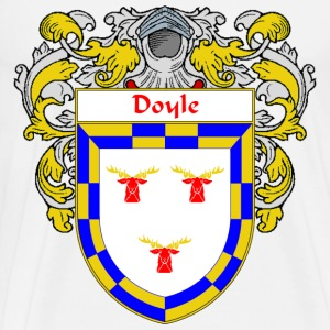Doyle Coat of Arms/Family Crest - Men's Premium T-Shirt