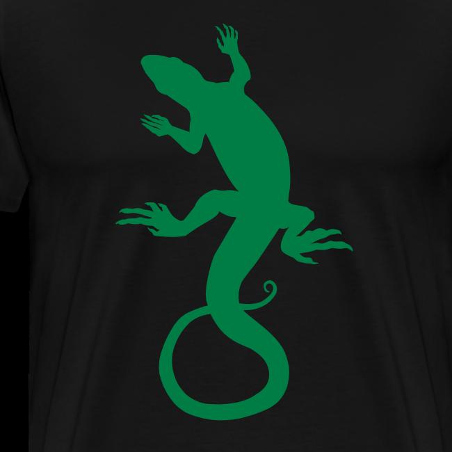 Men's Lizard Art Shirt 4XL Reptile T-shirt