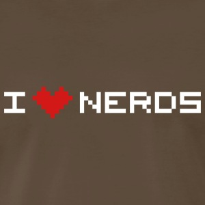 I love nerds T-Shirts - Men's Premium T-Shirt