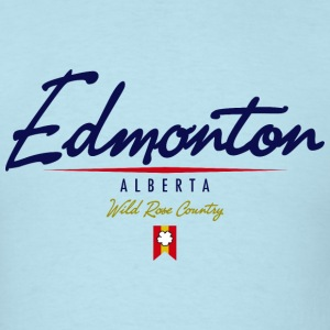Edmonton Script Heavyweight Tshirt - Men's T-Shirt