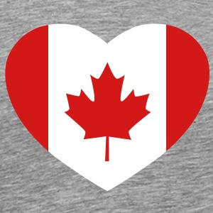 Canadian heart T-Shirts - Men's Premium T-Shirt