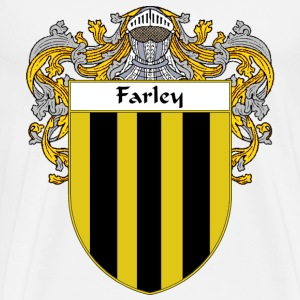 Farley Coat of Arms/Family Crest - Men's Premium T-Shirt