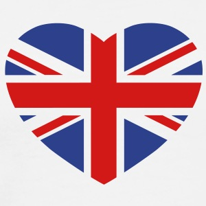 British heart T-Shirts - Men's Premium T-Shirt