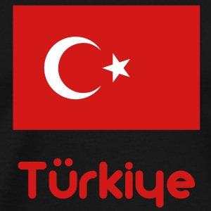 Turkey flag T-Shirts - Men's Premium T-Shirt