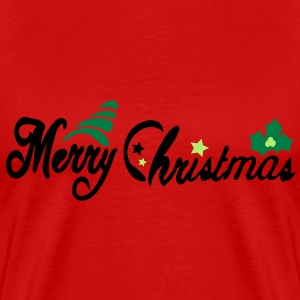 Merry Christmas Men's Heavyweight T-Shirt - Men's Premium T-Shirt