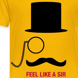 Feel Like A Sir Kids' Shirts - Kids' Premium T-Shirt