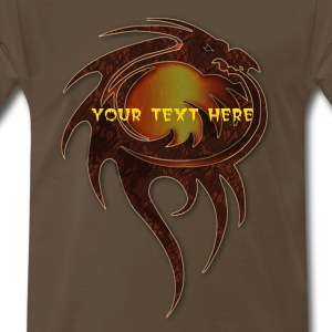 dragon fantasy t-shirt by patjila2 T-Shirts - Men's Premium T-Shirt