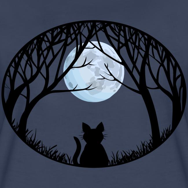 Fat Cat Shirts Women's Cat T-shirt Plus Size