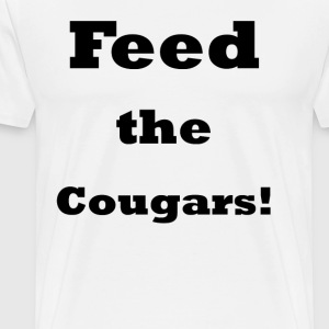 Feed the Cougars    BLA231 - Men's Premium T-Shirt