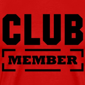 club member T-Shirts - Men's Premium T-Shirt