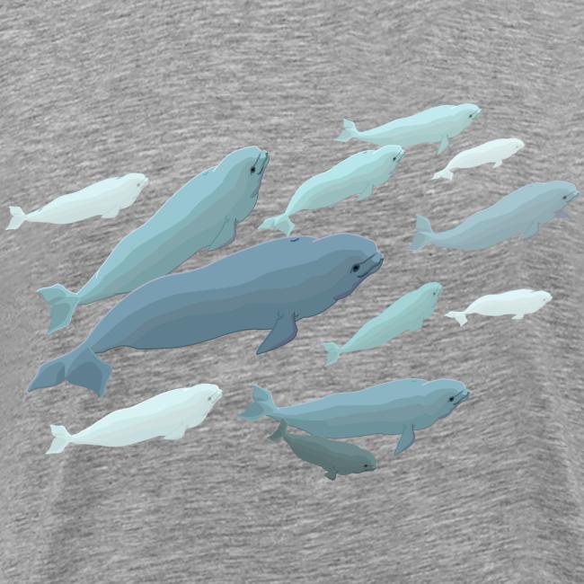 Beluga Whale T-Shirts 4XL Plus Size  Beluga Shirts