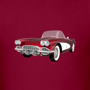 1961 Corvette C1: T-Shirt - Men's T-Shirt