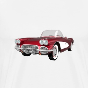 1961 Corvette C1: T-Shirt - Men's Premium T-Shirt