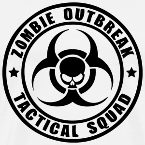 Zombie Outbreak Tactical Squad - Men's Premium T-Shirt
