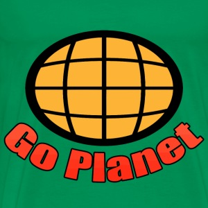 Go Planet - Captain - Planet - Planeteers T-Shirts - Men's Premium T-Shirt