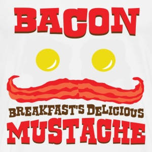 Bacon Mustache - Men's Premium T-Shirt