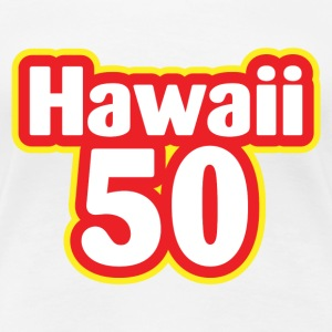 Hawaii 50 - Women's Premium T-Shirt