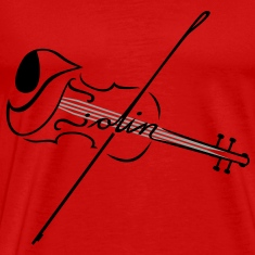 The Violin With Strings T-Shirts