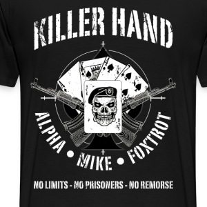 AK47-KILLER HAND - Men's Premium T-Shirt