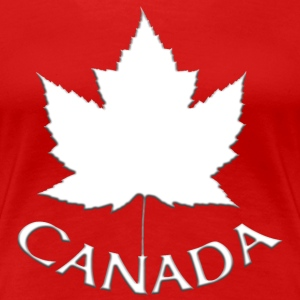 Women's Canada T-shirt Souvenir Canadian Maple Lea - Women's Premium T-Shirt