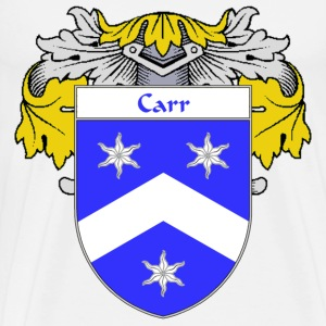 Carr Coat of Arms/Family Crest - Men's Premium T-Shirt