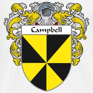 Campbell Coat of Arms/Family Crest - Men's Premium T-Shirt