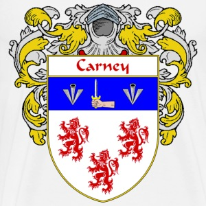 Carney Coat of Arms/Family Crest - Men's Premium T-Shirt