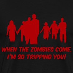Zombies - I'm so tripping you!