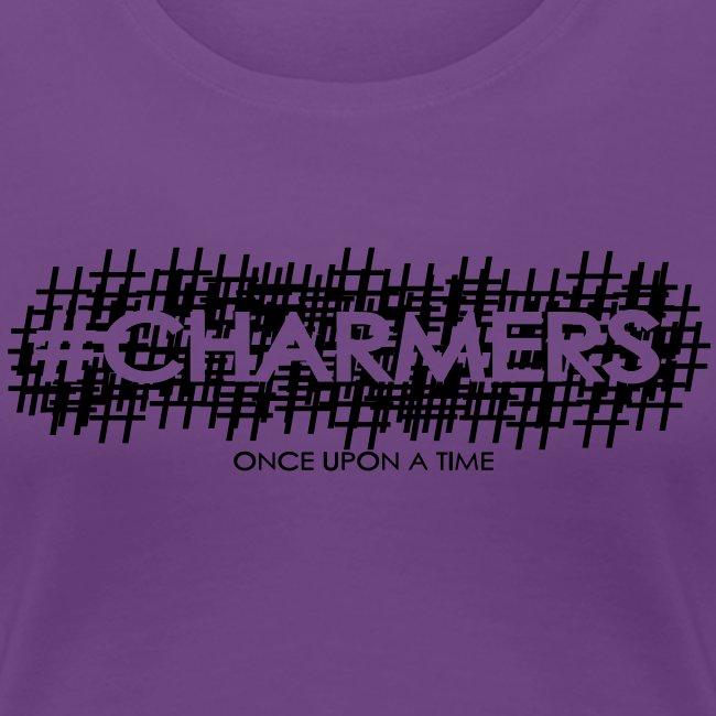 Original #Charmers Tee - Black Ink