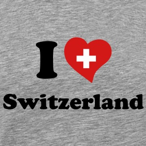 I love Switzerland T-Shirts - Men's Premium T-Shirt