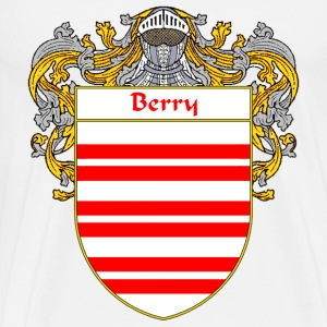 Berry Coat of Arms/Family Crest - Men's Premium T-Shirt