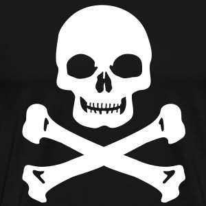 Pirate skull T-Shirts - Men's Premium T-Shirt