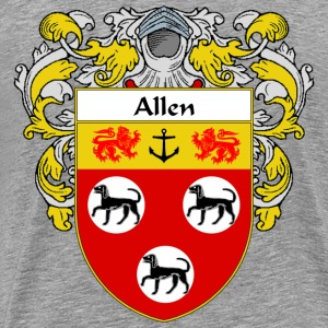 Allen Coat of Arms/Family Crest - Men's Premium T-Shirt