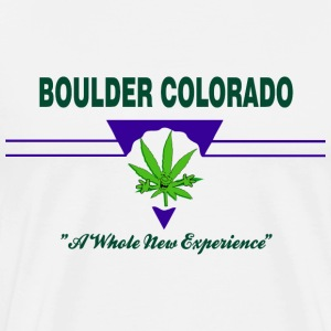 Marijuana Boulder Colorado T-Shirt - Men's Premium T-Shirt
