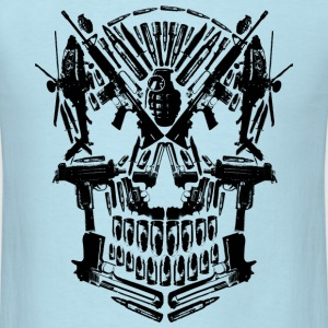 War Skull T-Shirts - Men's T-Shirt