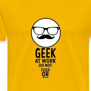 geek at work - Men's Premium T-Shirt