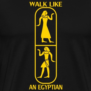 Walk like an egyptian T-Shirts - Men's Premium T-Shirt