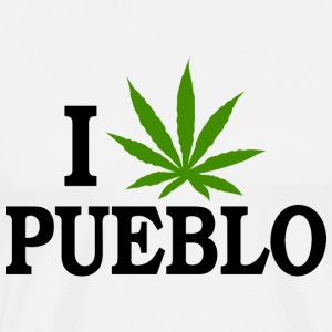 I Love Marijuana Pueblo Colorado T-Shirt - Men's Premium T-Shirt