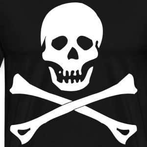 Skull and Crossbones T-Shirt - Men's Premium T-Shirt