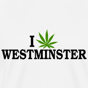 I Love Marijuana Westminister Colorado T-Shirt - Men's Premium T-Shirt
