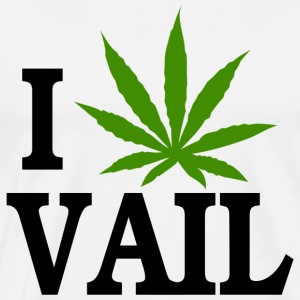 I Love Marijuana Vail Colorado T-Shirt - Men's Premium T-Shirt